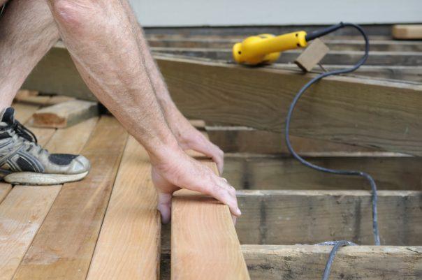repair a deck fayetteville ar